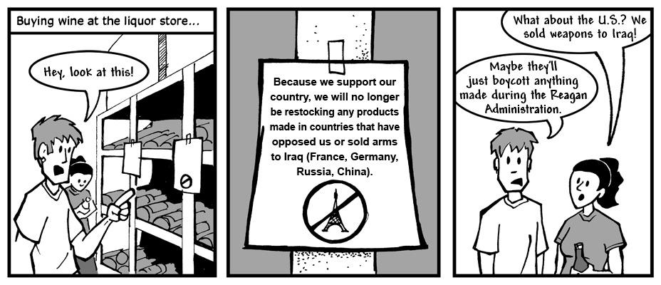 "April 10, 2003: ""Boycott Miller Lite"""