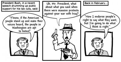 """May 19, 2003: """"What Hypocrisy?"""""""