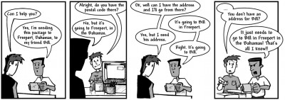 """May 21, 2003: """"Overestimating the Postal Service"""""""