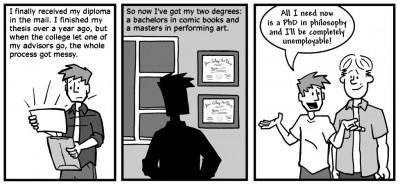"""July 3, 2003: """"Diploma"""""""