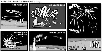 "July 5, 2003: ""Fireworks"""
