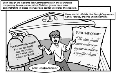 """October 3, 2003: """"Non-Christians Go Home!"""""""