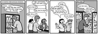 """January 22, 2004: """"Poor Taste"""""""
