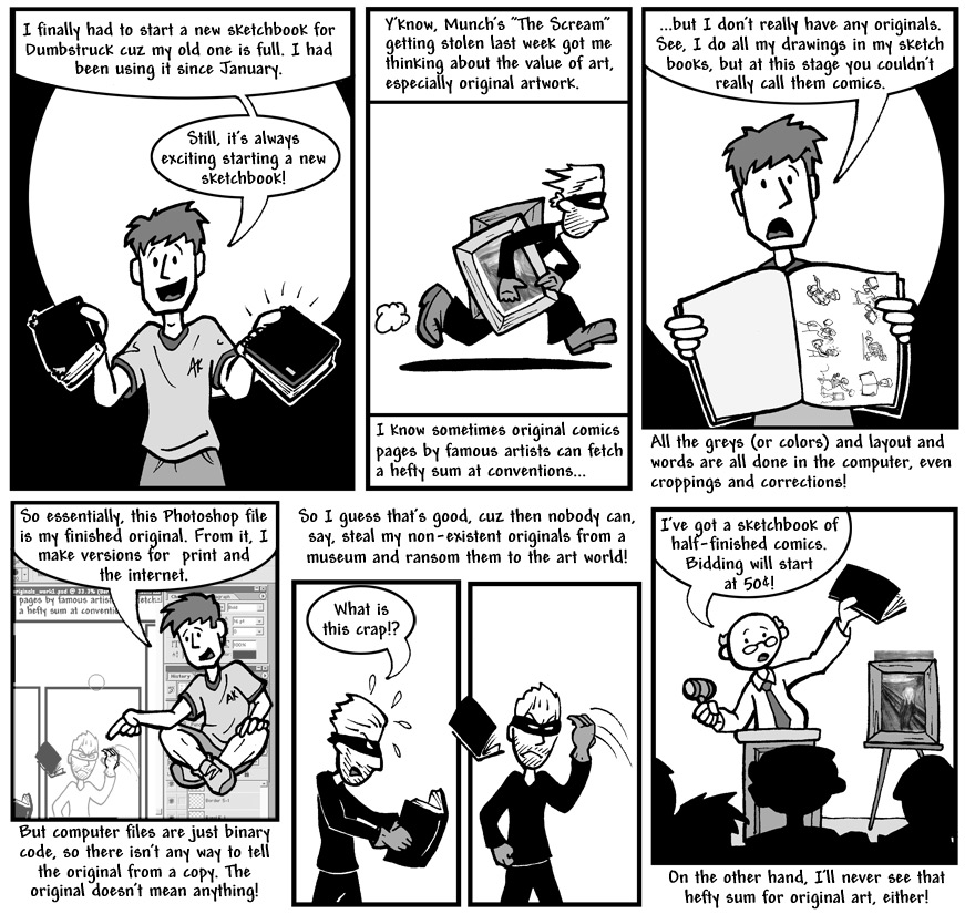 "September 3, 2004: ""New Sketchbook Ramble"""