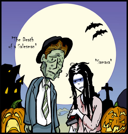 "October 31, 2004: ""Halloween Spooks"""