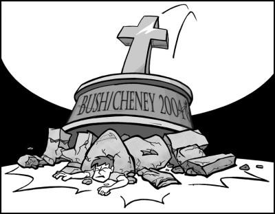 "November 3, 2004: ""Crushed"""