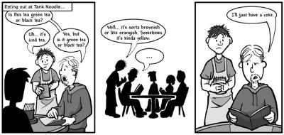 """November 16, 2004: """"Questionable Tea"""""""