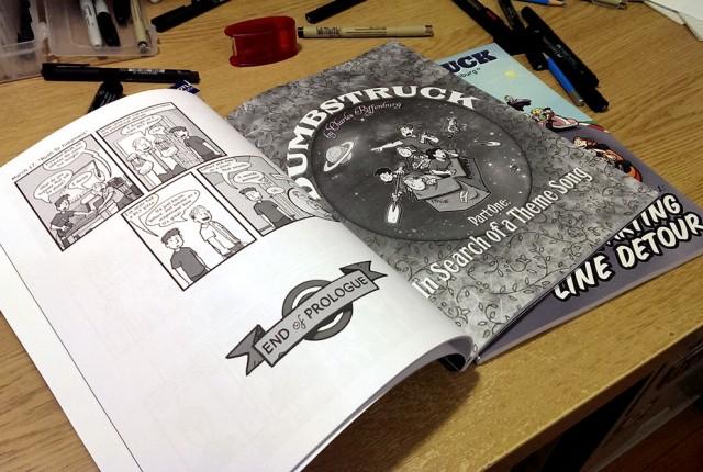Dumbstruck, Vol 1 interior 1