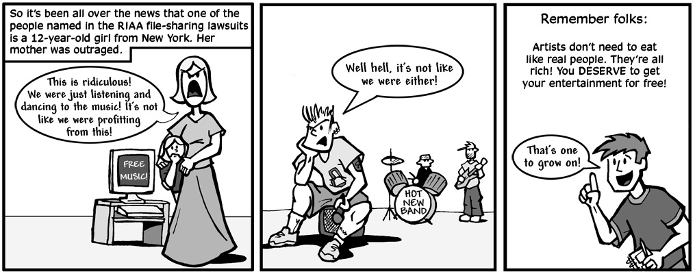 Satire Dumbstruck A Journal Comic